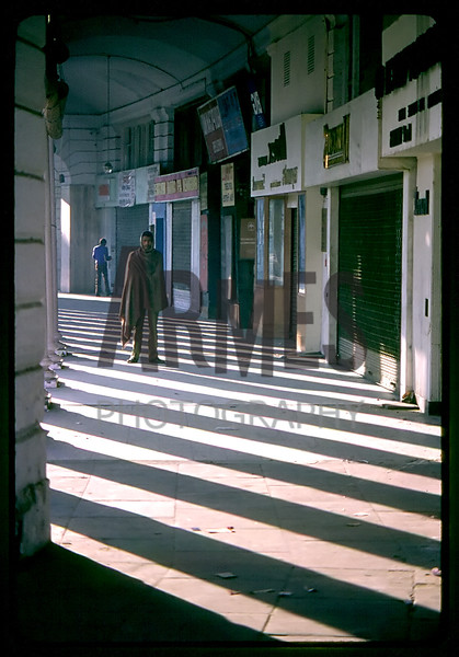 Connaught Place, New Delhi, India<br /> December 1985