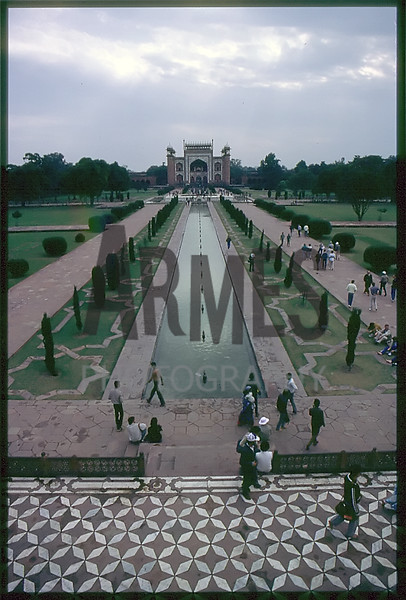 Taj Mahal, Agra, India<br /> December 1985