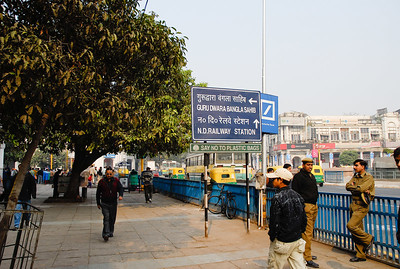 Near Connaught Place - we were expecting a major shopping center - this is what we found