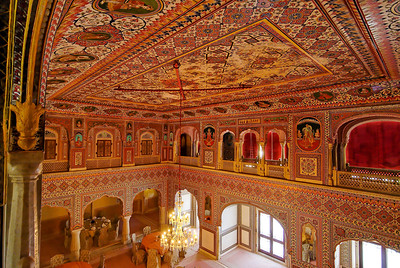 Samode Palace interior