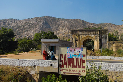 Our next stop was the Samode Palace. It now functions as a hotel, like many other palaces.