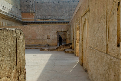 Courtyard in the Fort