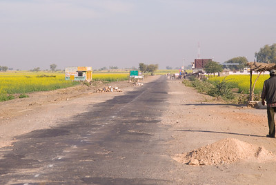 In most sections, the highway needed work