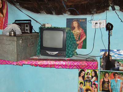 ...and the TV