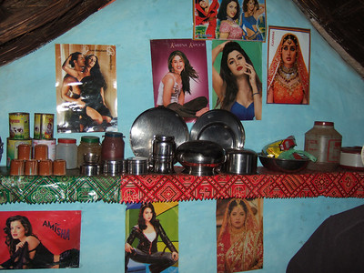 Inside a home - bollywood stars and pots...