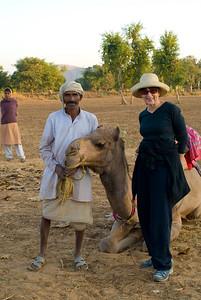 Hilda and her steed
