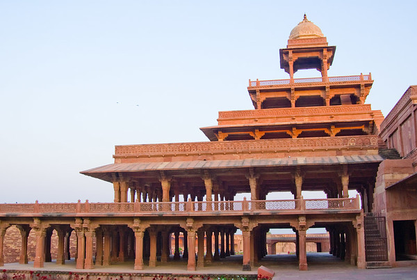 The Panch Mahal. Google for more about the city. No point in my pics being added to the other stuff out there.