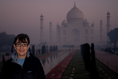 Serendipitously we visited the Taj Mahal on our 41st wedding anniversary...