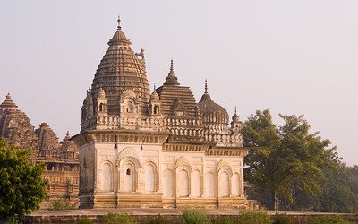 Three styles of dome on one temple - Hindu, Islamic, Christian