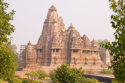 The temples are spread out over a large area