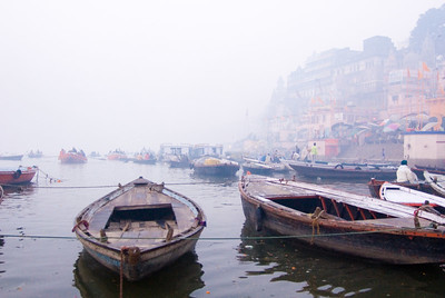 Varanasi was the smokiest of all the places we visited