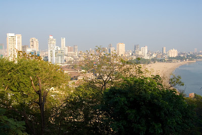The city from Malabar Hill