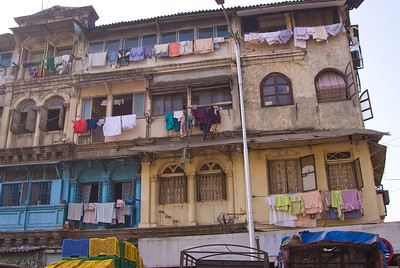 Many of the colonial era bulding are falling in a stste of disrepair