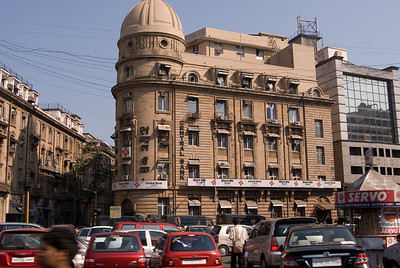 Downtown Bombay had the feel of any British colonial town - parts of Johannesburg and Shanghai come to mind.
