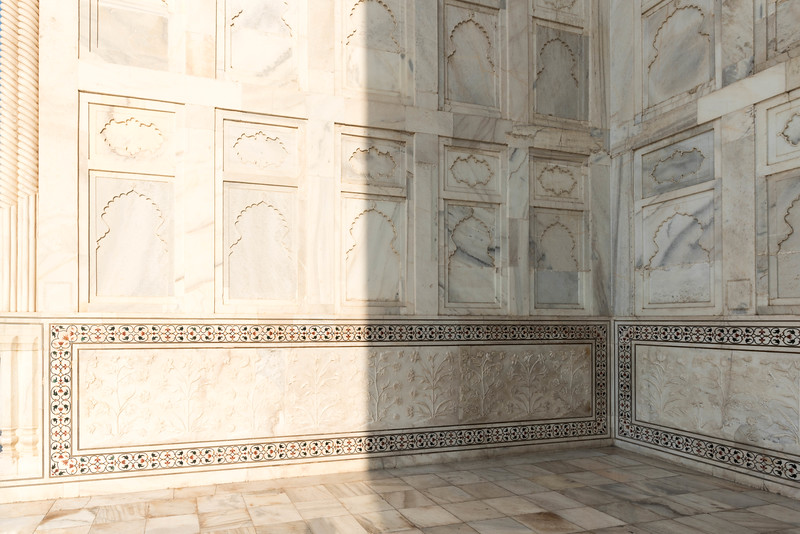Taj Mahal Stonework