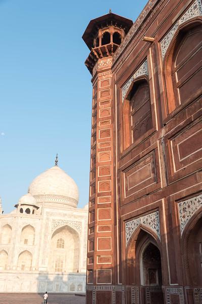 The Taj Mahal and the Jawab