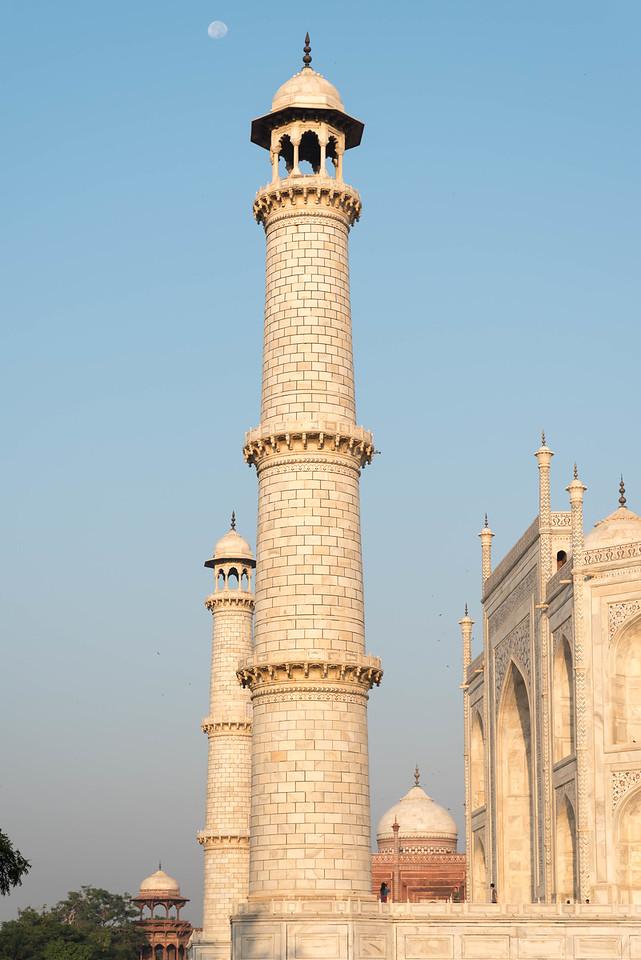 Taj Mahal Minarets