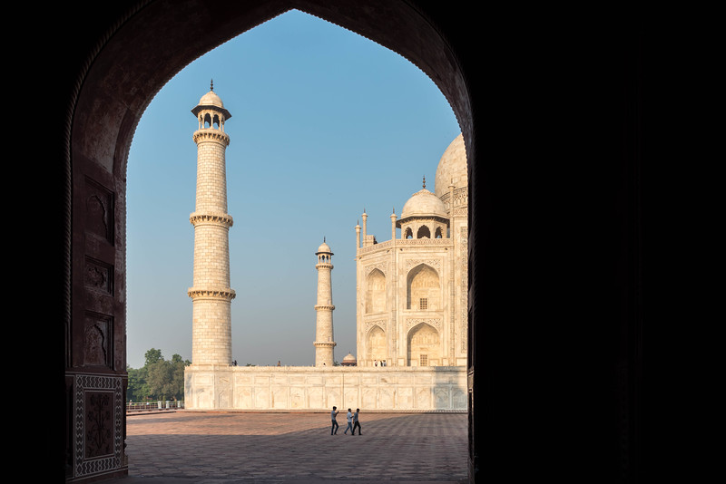 Taj Mahal from the Jawab