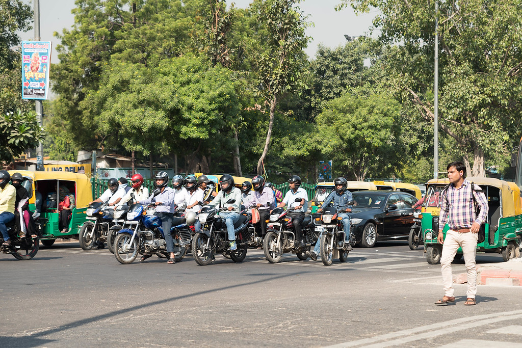 Delhi Street Corner