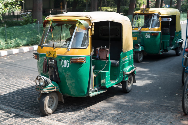Auto Rickshaws in Old Delhi