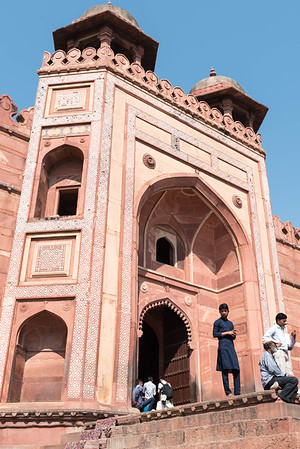 King's Gate to the Mosque