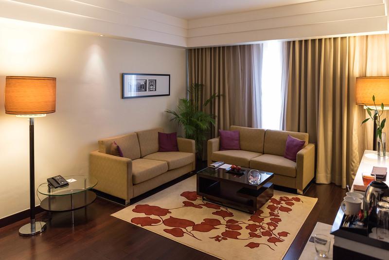 Executive Level Deluxe Suite, Jaipur Marriott