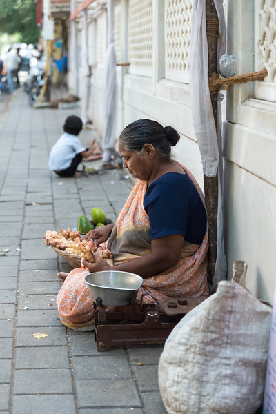 Vegetable Vendor, Mumbai
