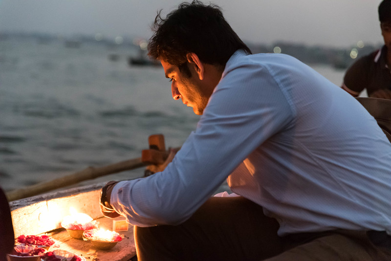 Evening Boat Tour on the Ganges