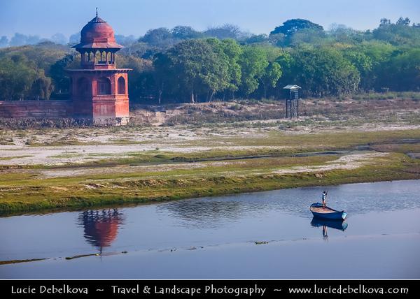 India - Uttar Pradesh State - Agra - Taj Mahal - UNESCO World He