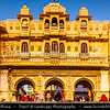 India - Rajasthan - Udaipur - City of Lakes - Cityscape around Lake Pichola - Historical area with glorious history, culture & scenic locations