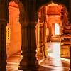 "India - Rajasthan - Jaisalmer - ""Golden City of India"" - Former medieval trading center in heart of Thar Desert - Amar Sagar Jain Temple"