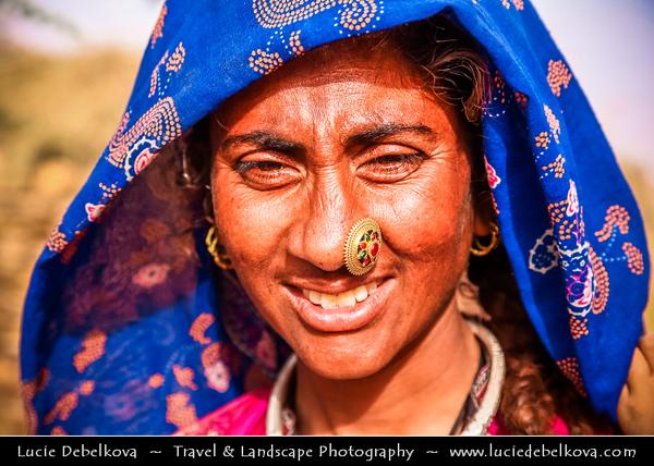 "India - Rajasthan - Jaisalmer - ""Golden City of India"" - Former medieval trading center in heart of Thar Desert - Daily life"