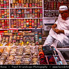 India - Rajasthan - Jaipur - Historical Rajasthani town nicknamed as Pink City - Old City - Traditional daily street life
