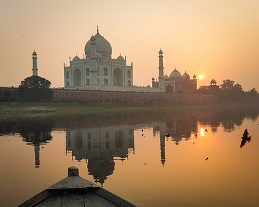 The Taj From the River