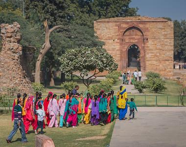 Qutub Minar, Delhi, India, 2014