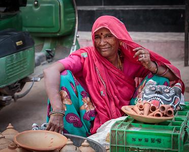 Sanganer, Rajasthan, India, 2014