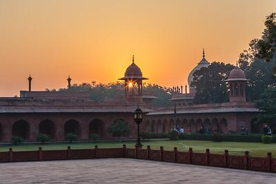 Early Morning, Taj Mahal, Agra, India, 2014