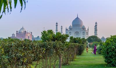 Late Afternoon, Taj Mahal, Agra, India, 2014