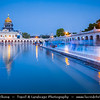 India - Delhi - New Delhi - Gurudwara Bangla Sahib - Most prominent Sikh gurdwara temple or Sikh house of worship in Delhi
