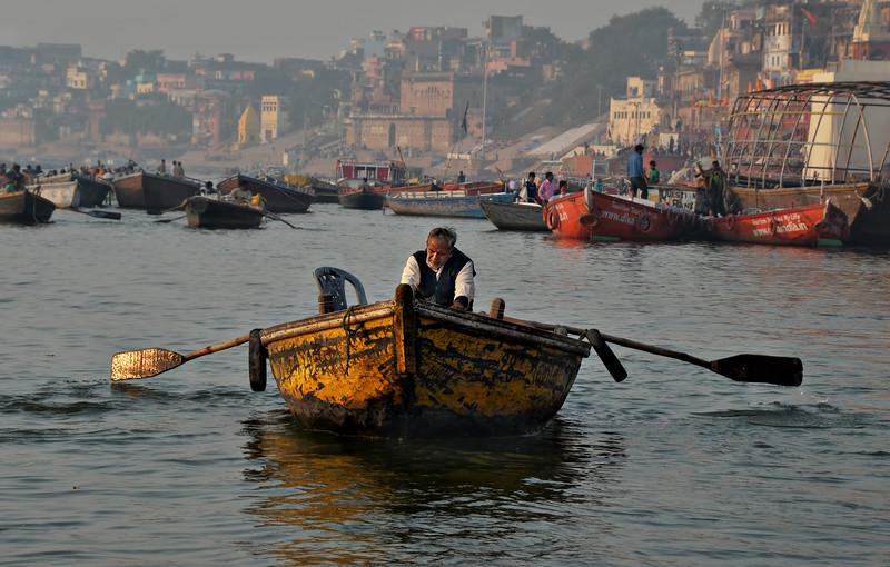 Oarsman on the Ganges