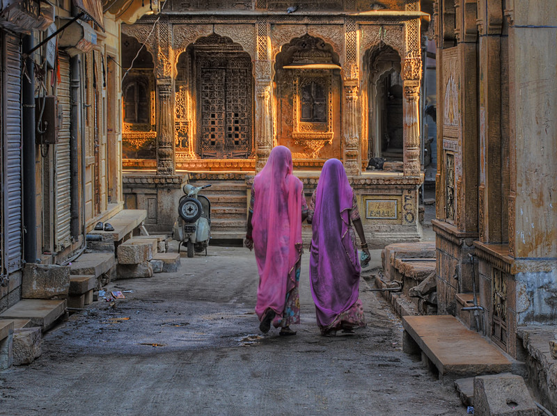 Two Women in Jaisalmer