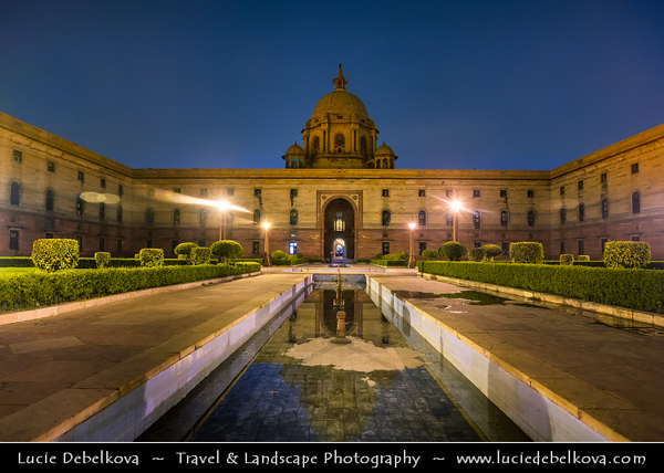 India - Delhi - New Delhi - Indian government Ministry of Home affairs office building