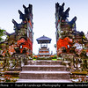 Indonesia - Bali Island - Pura Taman Ayun Temple Complex in Mengwi - One of Bali's biggest and eye-catching temple complexes build on an island surrounded by lotus ponds