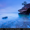 Indonesia - Bali Island - Dusk at Jimbaran - Suluban Beach