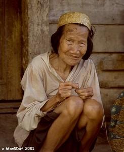 Punan Old Woman