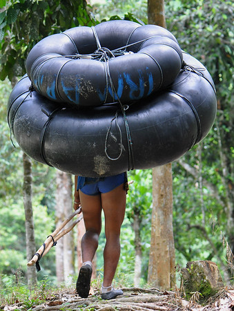 Bukit Lawang - Tube Transport