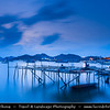 Indonesia - Flores Island - Labuan Bajo - Small & pretty harbor on the western-most tip of the island of Flores - Entry point to the Komodo National Park (KNP) and the wonders of  the island of Flores