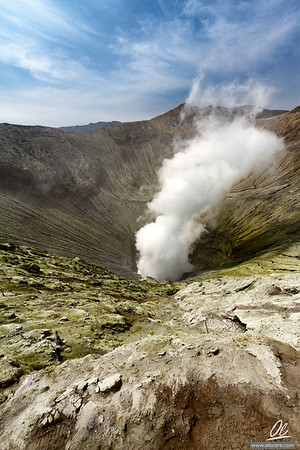 Beholding the inner crater