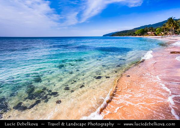 Indonesia - Lombok Island - Blue Water at Beautiful Senggigi Bea