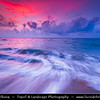 Indonesia - Lombok Island - Sunset at Beautiful Senggigi Beach